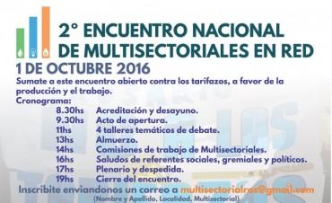 La Multisectorial contra el tarifazo confluirá el sábado en Rosario