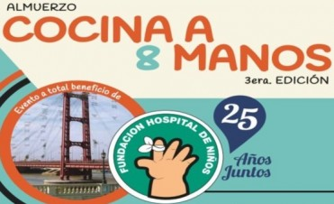 Una nueva edición de Cocina a Ocho Manos se realiza en Santa Fe