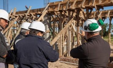 La construcción subió más de veinte por ciento interanual en julio