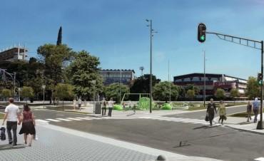 El Municipio propuso retirar la rotonda de Avenida Freyre y Boulevard Pellegrini