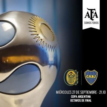 Rosario Central recibe a Boca por Copa Argentina