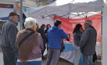 La provincia aplicó más de 400 vacunas durante una campaña gratuita realizada en la ciudad de Santa Fe