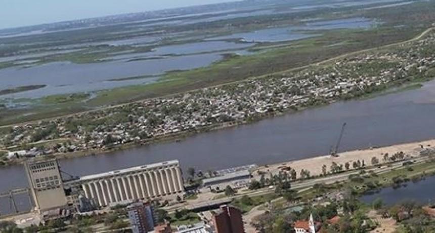 El Paraná se encontraba por debajo del metro noventa en el puerto de Santa Fe