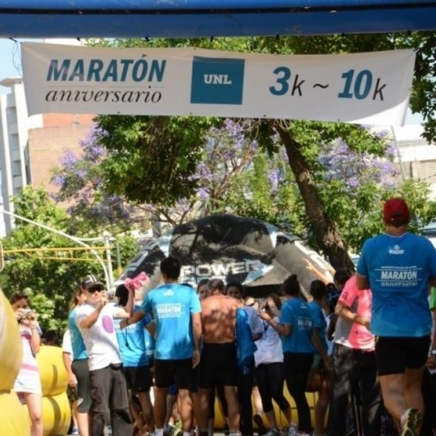 La UNL realizará su maratón aniversario el 28 de octubre