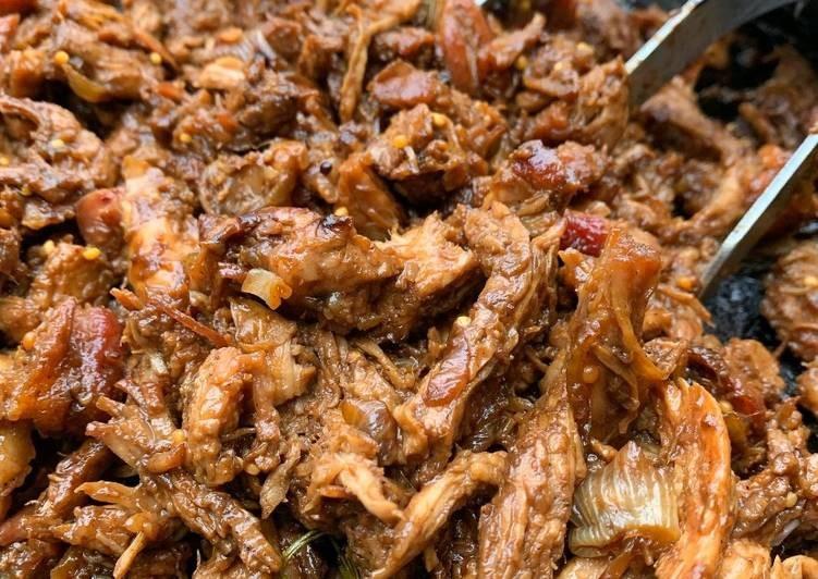 A cocinar: Bondiola braseada