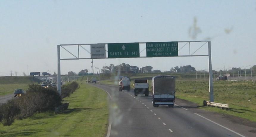 El tránsito quedó normalizado en ruta nacional A012 tras un accidente