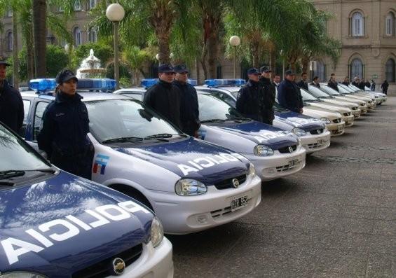 La policía realiza un operativo de saturación en la ciudad de Santa Fe