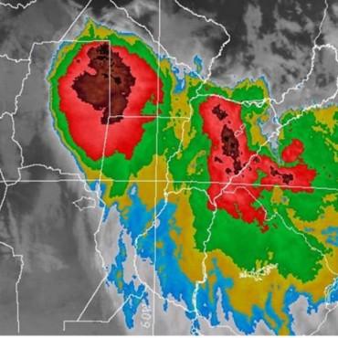 Alerta meteorológica para el norte de Santa Fe