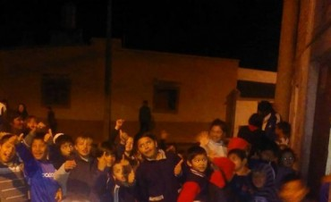 La vecinal de Santa Rosa de Lima pide vajilla para su comedor nocturno