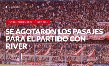 Hinchas de Unión se trasladarán en 16 colectivos a Mar Del Plata por la Copa Argentina