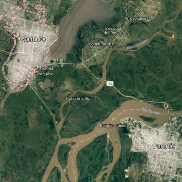 Autoridades se reúnen para analizar la nueva traza del puente Santa Fe-Paraná