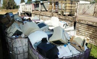 La Provincia descartará más de 30 toneladas de basura electrónica