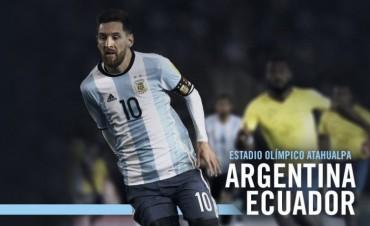 El partido Argentina - Ecuador lo escuchas por Radio Uno