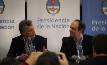 Mauricio Macri visita la ciudad de Santa Fe