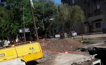 El tránsito estará cortado en Avenida López y Planes al 3800 por obras desde este lunes