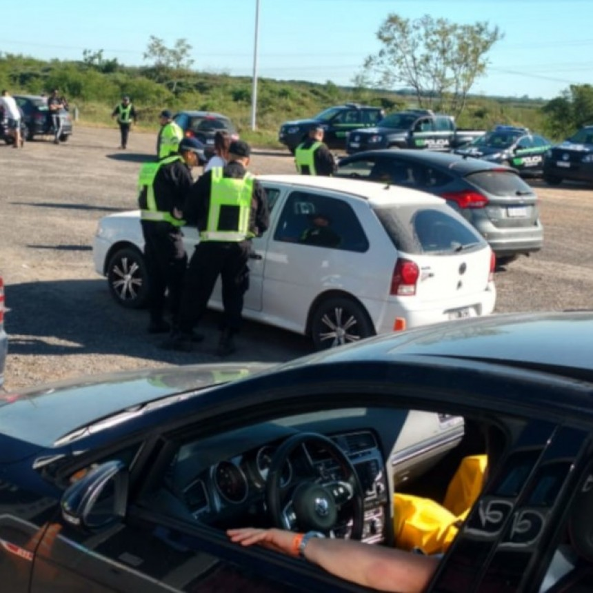 La Agencia Provincial de Seguridad Vial controló más de 7600 vehículos durante este fin de semana