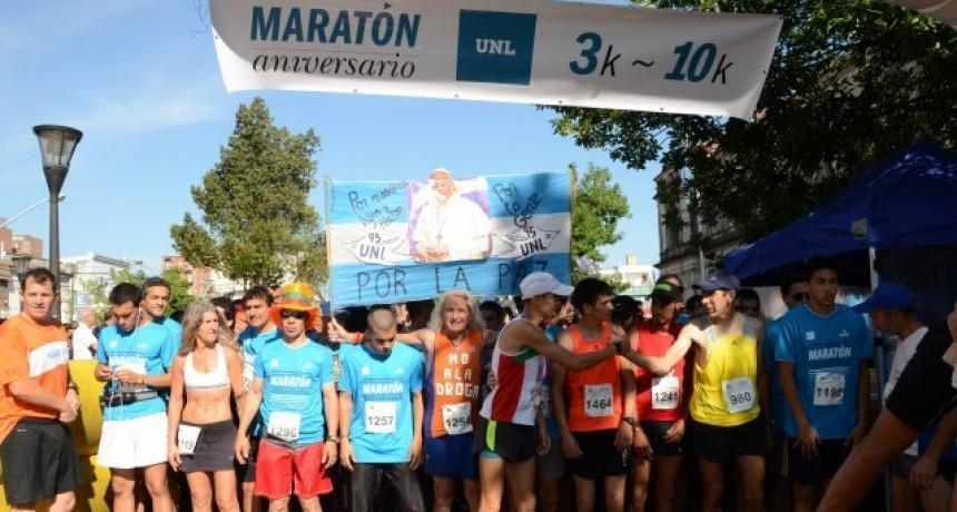 La UNL realiza su maratón aniversario el próximo domingo