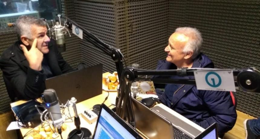 Midachi pasó por los estudios de Radio Uno