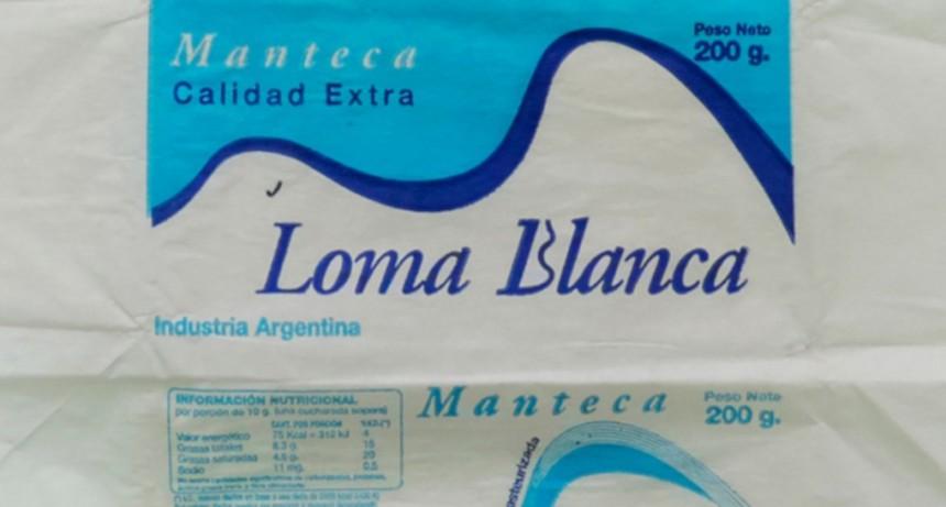 La Assal prohibió la venta de las mantecas marcas Loma Blanca y Yolcle