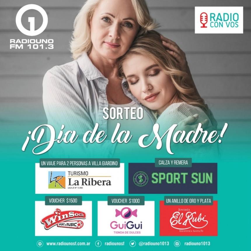 SUPER SORTEO DEL DÍA DE LA MADRE EN RADIO UNO FM 101.3