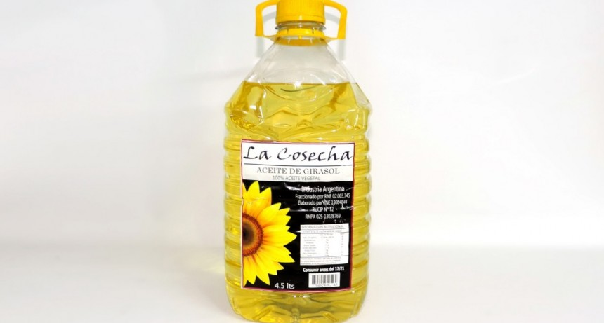 "La Assal prohibió la venta del aceite de girasol ""La Cosecha"""