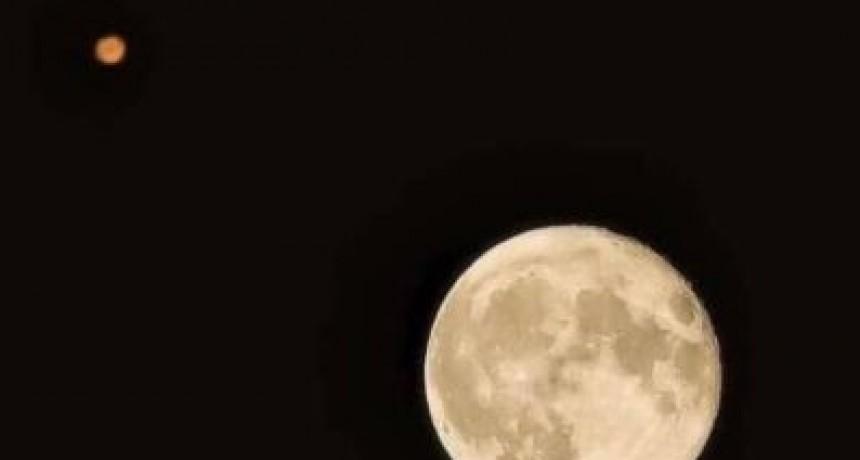 Marte se podrá ver esta noche sin telescopio