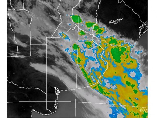 Alerta meteorológica para sur y centro de Santa Fe