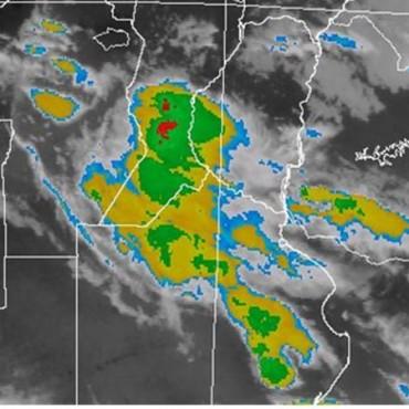 Alerta meteorológica por probables tormentas fuertes para centro y norte de Santa Fe