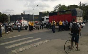 Falleció un motociclista en Av. Freyre y Crespo