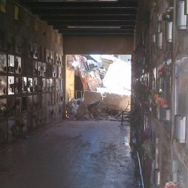 Más de 600 nichos vencidos serán demolidos en el Cementerio Municipal
