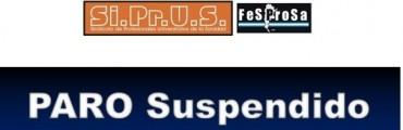 Siprus suspendió el paro