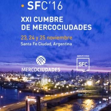La cumbre Mercociudades comienza en la ciudad de Santa Fe
