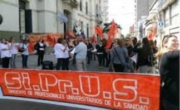 El ministerio de Salud descontaría los días a los trabajadores de Sirpus adheridos al paro