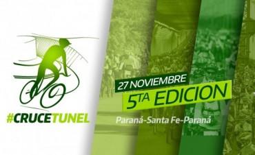 Ciclistas cruzarán el viaducto Uranga-Sylvestre Begnis el domingo