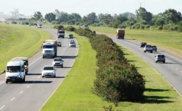 La provincia invertirá más de 50 millones de pesos en obras de repavimentación en la autopista Rosario-Santa Fe