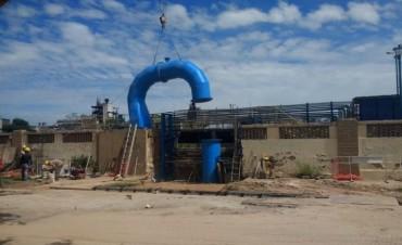 ASSA colocó la última pieza en la obra de renovación del acueducto de agua cruda