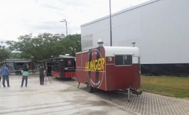 Los food trucks  comienzan a funcionar desde este viernes a la vera de la ruta 168