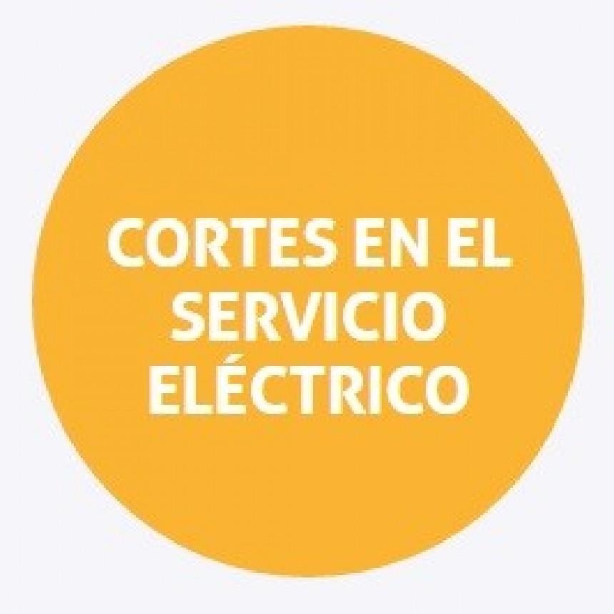 Cortes programados de energía en Santa Fe