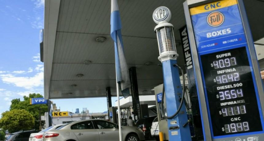 Los combustibles subieron 14 veces en lo que iba del año