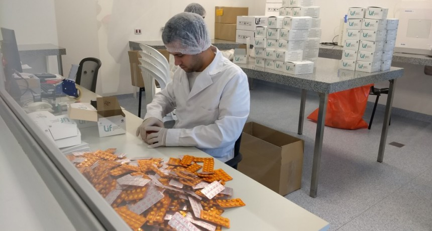 El LIF entregó más de 6 millones de comprimidos de Paracetamol a la Nación