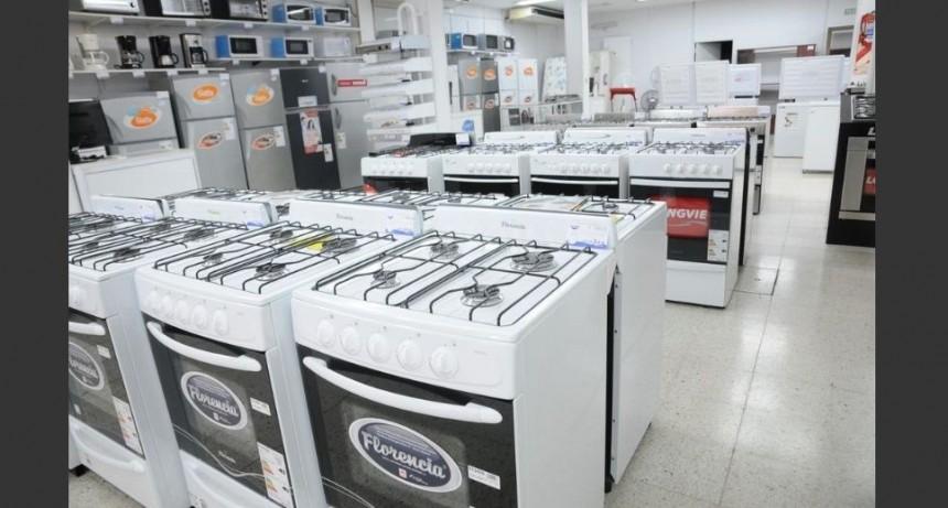 La venta de electrodomésticos aumentó cinco por ciento interanual en el tercer trimestre