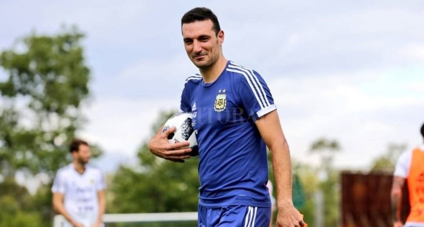 Scaloni dirige a la selección nacional de fútbol hasta la Copa América 2019