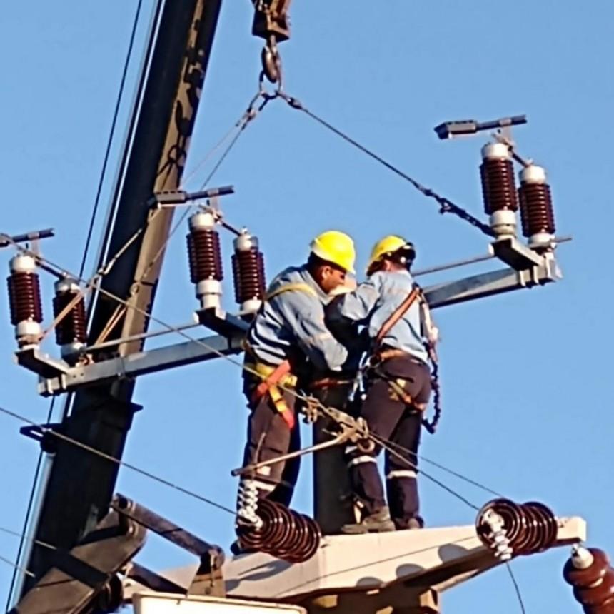 Corte de energía programado para este lunes en la ruta 168
