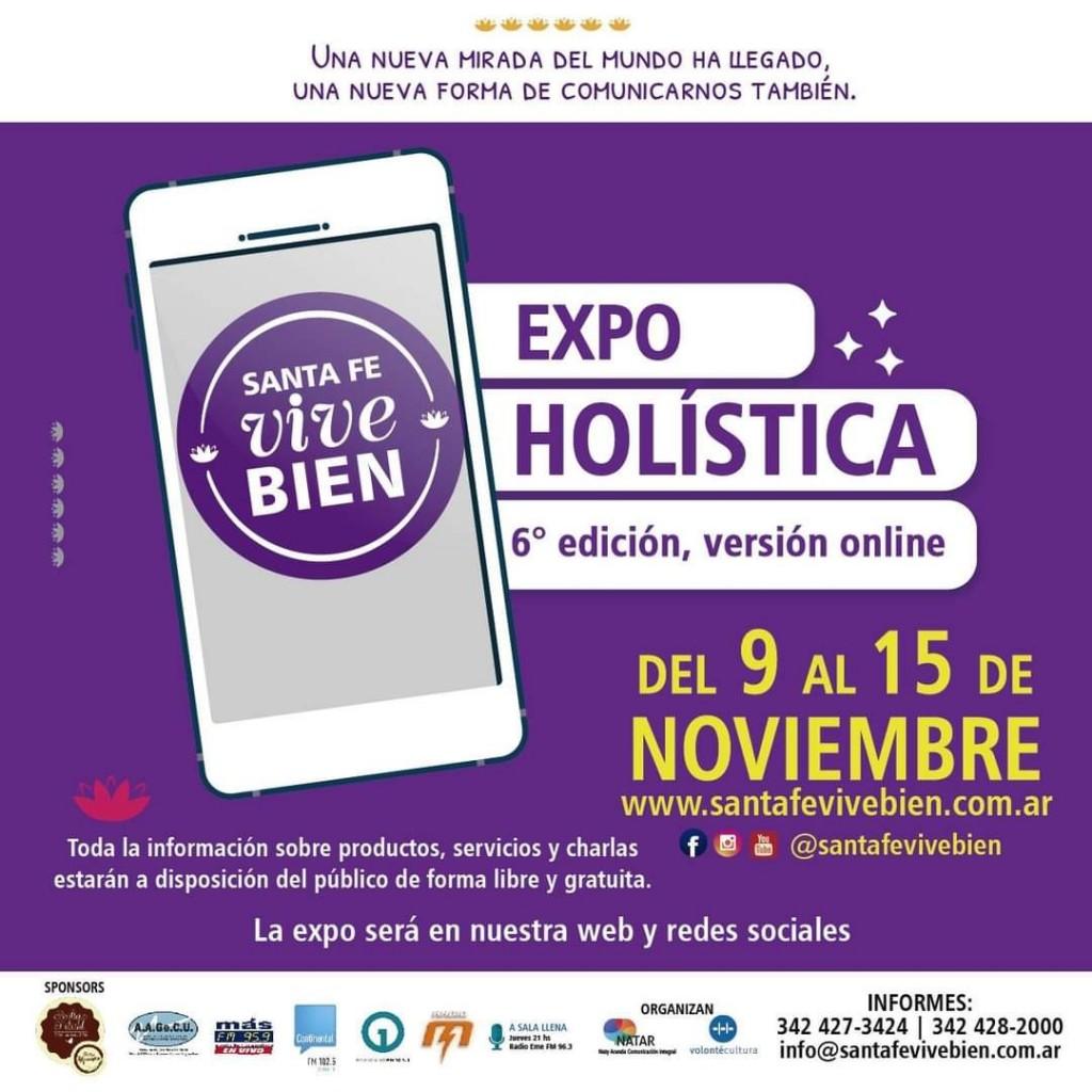 La sexta edición de Expo Holística empieza el lunes