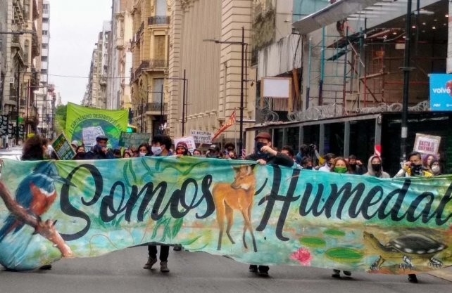 La Multisectorial de Humedales de Santa Fe se suma a una jornada nacional de protesta para denunciar la emergencia socioambiental