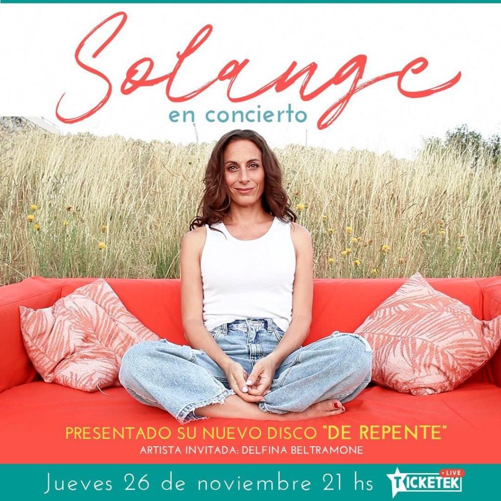 Solange Freyre: La argentina finalista de Got A Talent España presenta su show de streaming