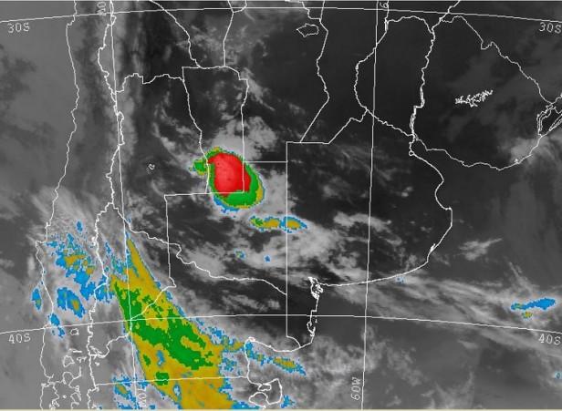 Alerta meteorológica para el sur de Santa Fe