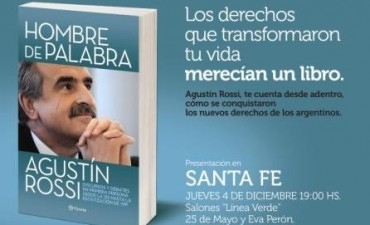 Agustín Rossi presenta su libro en Santa Fe