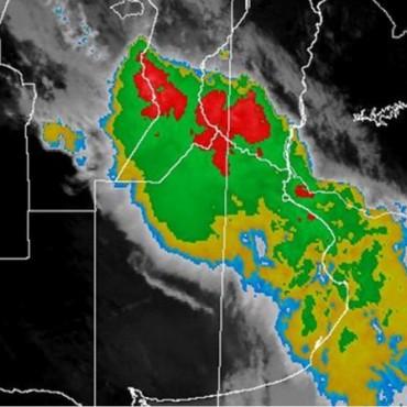 Aviso meteorológico a corto plazo por probables tormentas fuertes en Santa Fe