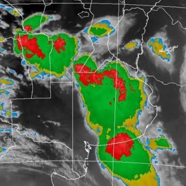 Alerta meteorológica por tormentas fuertes para centro y sur de Santa Fe